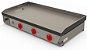 Chapa Bifeteira PR-1000G Progás Gás Industrial 3 Queimadores - Imagem 1