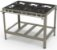 Fogão Industrial Inox 6 Queimadores Simples PMI-603 Progás - Imagem 1
