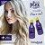 Kit descoloração completo - Pó Descolorante + emulsão Cremosa OX 40 Vol + Plex - Imagem 4
