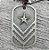 Colar Militar com Estrela - Imagem 3