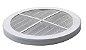 Grade de Ventilação Redonda Para Vidro Branca 150 mm - Imagem 2
