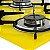 Fogão Cooktop 5 Bocas Amarelo Com 1 Protetor Frontal e 2 laterais - Imagem 3