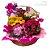 Cesta de Vasos com Flores Variadas - Imagem 1