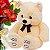 Rosas e Astromélia Vermelhas com Urso de Pelucia - Imagem 2