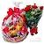 Romântica cesta Café da Manhã e Buquê de 6 Rosas - Imagem 1