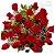 Buquê 24 Rosas vermelhas embaladas sofisticadamente - Imagem 1