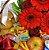 Cesta Café da Manhã com Flores - Imagem 2