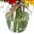 Rosas coloridas no vaso - Imagem 2