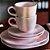 Aparelho de Jantar e  Chá Ryo Pink Sand- Oxford - Imagem 7