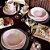 Aparelho de Jantar e  Chá Ryo Pink Sand- Oxford - Imagem 2