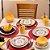 Aparelho de Jantar e  Chá Floreal La Pollera - Oxford - Imagem 2