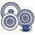 Aparelho de Jantar e  Chá Floreal La Carreta - Oxford - Imagem 1