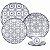 Aparelho de Jantar e  Chá Floreal Nautico - Oxford - Imagem 1