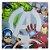 Quadro Canvas 40x40cm Avengers Logo  - Imagem 1