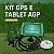 Kit Gps Agrícola AGP Daga Agrinavi Com Tablet - Imagem 1