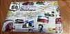 Placa de Metal Route 66 - Oklahoma - Imagem 2