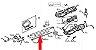 Tubo Interno Superior Roçadeira Elétrica Tekna BC1200SS / BC1250SS - Imagem 3
