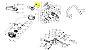 Botão Fecho Filtro Ar Motosserra Vulcan VSL450 VSL550 VS620 - Imagem 2