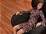 Vestido em Crepe de Seda Estampa Cogumelos - Fato Básico - Imagem 2