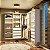Closet Completo (16) em L com Gavetas, Prateleiras e Cabideiros - Imagem 1