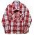 Camisa Xadrez Manga Longa Red - Imagem 1