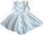 Vestido Baby Branco Coelhinhos Poá - Imagem 2