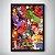 Quadro Marvel vs Capcom - Clash of Super Heroes - 32,5 x 43cm - Imagem 2