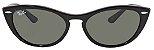 Óculos de Sol Ray-Ban RB4314N Nina Preto - Imagem 1