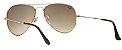 Óculos de Sol Ray-Ban Aviador RB3025 - Marrom Degradê - Imagem 3