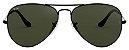 Óculos de Sol Ray-Ban Aviador RB3025 - Verde / Preto - Imagem 1