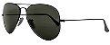 Óculos de Sol Ray-Ban Aviador RB3025 - Verde / Preto - Imagem 2