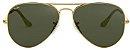 Óculos de Sol Ray-Ban Aviador RB3025 - Verde - Imagem 1