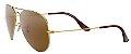 Óculos de Sol Ray-Ban Aviador RB3025 - Marrom - Imagem 2