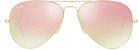 Óculos de Sol Ray-Ban Aviador RB3025 - Rosa Espelhado - Imagem 1