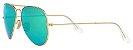 Óculos de Sol Ray-Ban Aviador RB3025 - Verde Espelhado - Imagem 2