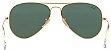 Óculos de Sol Ray-Ban Aviador RB3025 - Verde Espelhado - Imagem 3