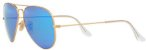 Óculos de Sol Ray-Ban Aviador RB3025 - Azul Espelhado - Imagem 2