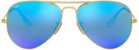 Óculos de Sol Ray-Ban Aviador RB3025 - Azul Espelhado - Imagem 1