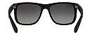 Óculos de Sol Ray-Ban RB4165L Justin Preto Polarizado - Imagem 4