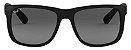 Óculos de Sol Ray-Ban RB4165L Justin Preto Polarizado - Imagem 1