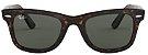 Óculos de Sol Ray-Ban Wayfarer Tartaruga RB2140 - Brilhante - Imagem 1