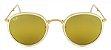 Óculos de Sol Ray-Ban RB3517 Round Dobrável Dourado - Imagem 1
