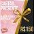 CARTÃO PRESENTE R$ 150,00 - Imagem 1