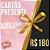 CARTÃO PRESENTE R$ 180,00 - Imagem 1
