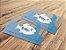 1.000 Cartão de Visita - Tamanho 9x5cm - PVC Transparente - Imagem 1