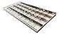 Luminária Comercial 4x18w 1250mm Tubular T8 10 Aletas p/ forro modular - Imagem 1