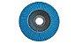 """Disco 4.1/2"""" Flap Zirconia 80 Ref. 4028 Lotus - Imagem 1"""