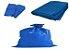Saco de lixo azul 50L 10kg 10 unidd - Imagem 1