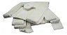 Sacola branca grossa 40x50 pc/4kg - Imagem 1