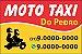 Adesivos para Moto-Taxi 5x3,3cm 540Un - Imagem 1